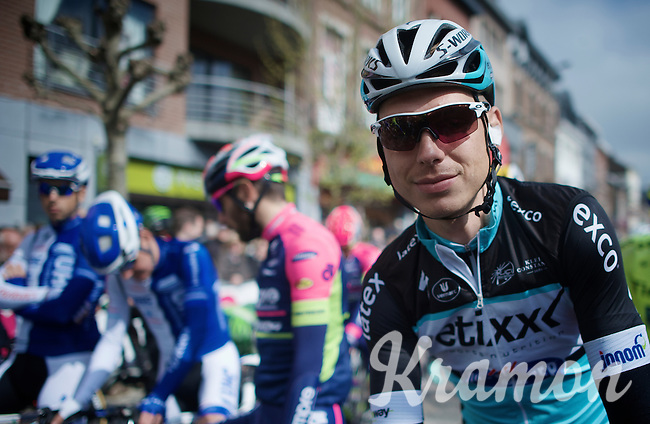 Tony Martin (DEU/Ettix-Quickstep) at the start<br /> <br /> 79th Flèche Wallonne 2015