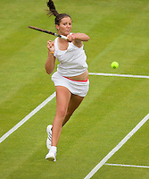 22-6-09, Enland, London, Wimbledon, Laura Robson