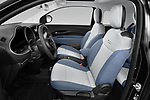 Front seat view of 2021 Fiat 500 Icon 3 Door Hatchback Front Seat  car photos