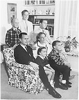 The George Bush family in 1964 in Houston - NARA