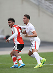 DALLAS, TX - APRIL 13 : Jesus Vazquez #21 of the USMNT U-20 plays against River Plate Argentina Dallas Cup - Cotton Bowl in Dallas on April 13, 2014 in Dallas, Texas. (Photo by Rick Yeatts)