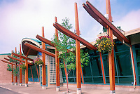 "Prince George, BC, British Columbia, Canada - The ""Exploration Place"" Museum and Science Centre in Fort George Park"