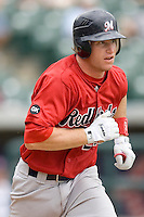 Anderson, Bryan 0160.jpg. Memphis Redbirds at Round Rock Express in Pacific Coast League Baseball. Dell Diamond on April 26th 2009 in Round Rock, Texas. Photo by Andrew Woolley.