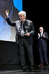 Costa Gavras receives the Donosti Award during the 67th San Sebastian Donostia International Film Festival - Zinemaldia.September 21,2019.(ALTERPHOTOS/Yurena Paniagua)