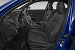 Front seat view of 2021 Lexus UX-300e Privilege 5 Door SUV Front Seat  car photos