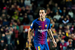 Sergio Busquets Burgos of FC Barcelona looks on during the Copa Del Rey 2017-18 Round of 16 (2nd leg) match between FC Barcelona and RC Celta de Vigo at Camp Nou on 11 January 2018 in Barcelona, Spain. Photo by Vicens Gimenez / Power Sport Images
