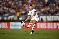 PASADENA, CALIFORNIA - August 03: Abby Dahlkemper #7 during their international friendly and the USWNT Victory Tour match between Ireland and the United States at the Rose Bowl on August 03, 2019 in Pasadena, CA.