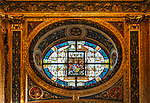 Deutschland, Nordrhein-Westfalen, Kevelaer: Gnadenkapelle - Fenster | Germany, Northrhine-Westphalia, Kevelaer: Chapel of Mercy - window