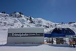 Trittalpbahn Chairlift,, Lech and Zurs Ski Areas, St Anton, Austria