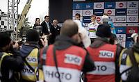 Eli Iserbyt (BEL)<br /> <br /> U23 men's race<br /> <br /> UCI 2016 cyclocross World Championships / Zolder, Belgium