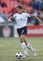 Shannon Boxx. The US Women's National Team defeated the Canadian Women's National Team, 4-0, at BMO Field in Toronto during an international friendly soccer match on May 25, 2009.
