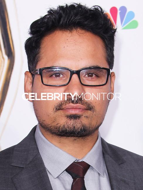 PASADENA, CA, USA - OCTOBER 10: Michael Pena arrives at the 2014 NCLR ALMA Awards held at the Pasadena Civic Auditorium on October 10, 2014 in Pasadena, California, United States. (Photo by Celebrity Monitor)