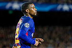 Nelson Cabral Semedo of FC Barcelona reacts during the UEFA Champions League 2017-18 quarter-finals (1st leg) match between FC Barcelona and AS Roma at Camp Nou on 05 April 2018 in Barcelona, Spain. Photo by Vicens Gimenez / Power Sport Images