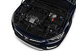 Car stock 2019 Buick Regal TourX Essence 5 Door Wagon engine high angle detail view