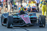 Indy Car teams get ready for action before the DXC Technology 600 race at Texas Motor Speedway in Fort Worth,Texas.