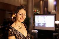 Filmmaker and photographer Marie-Michele Jasmin-Belisle<br /> , March 9,2016 at crystal de la Montagne<br /> <br /> <br /> <br /> PHOTO : Pierre Roussel - Agence Quebec Presse