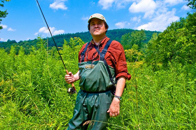 Christopher Whittington, Vermont fly fishing enthusiast hails from Washington, DC.