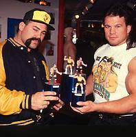 Steiner Bros 1990<br /> Photo By John Barrett/PHOTOlink