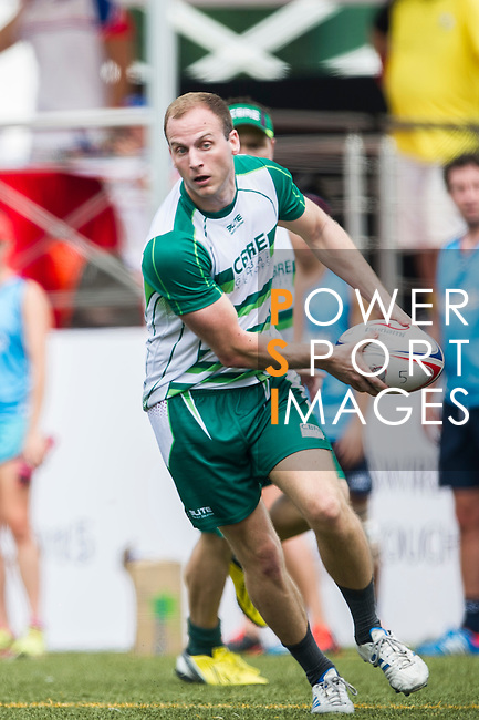 Players in action during the Swire Properties Touch Tournament 2015 for HKRFU on September 12, 2015 at King's Park Sports Ground in Hong Kong, China. Photo by Moses Ng / Power Sport Images