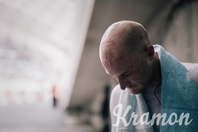Steve Cummings (GBR/Dimension Data) after finishing<br /> <br /> 104th Tour de France 2017<br /> Stage 20 (ITT) - Marseille › Marseille (23km)