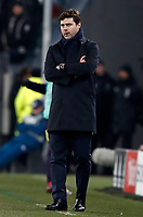 Football Soccer: UEFA Champions League Juventus vs Tottenahm Hotspurs FC Round of 16 1st leg, Allianz Stadium. Turin, Italy, February 13, 2018. <br /> Juventus' coach Mauricio Pochettino looks on during the Uefa Champions League football soccer match between Juventus and Tottenahm Hotspurs FC at Allianz Stadium in Turin, February 13, 2018.<br /> UPDATE IMAGES PRESS/Isabella Bonotto