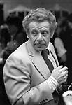 Jerry Stiller in New York City. September 1, 1979