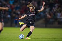 STANFORD, CA - November 21, 2014: Andi Sullivan during the Stanford vs Arkansas women's second round NCAA soccer match in Stanford, California.  The Cardinal defeated the Razorbacks 1-0.