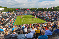 Den Bosch, Netherlands, 13 June, 2017, Tennis, Ricoh Open, Centercourt with Kiki Bertens in the back<br /> Photo: Henk Koster/tennisimages.com