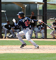 Raynel Delgado - Cleveland Indians 2019 extended spring training (Bill Mitchell)
