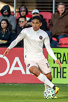 WASHINGTON, DC - MARCH 07: Victor Ulloa #13 of Inter Miami on the attack during a game between Inter Miami CF and D.C. United at Audi Field on March 07, 2020 in Washington, DC.