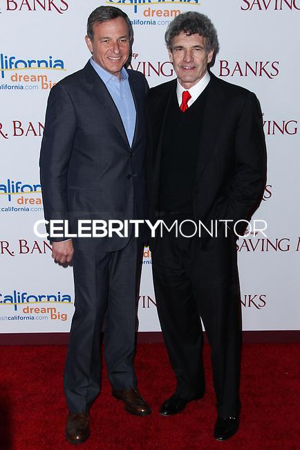 "BURBANK, CA - DECEMBER 09: Bob Iger, Alan Horn arriving at the U.S. Premiere Of Disney's ""Saving Mr. Banks"" held at Walt Disney Studios on December 9, 2013 in Burbank, California. (Photo by Xavier Collin/Celebrity Monitor)"