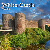 Images of The Medieval White Castle Wales | Pictures & Photos