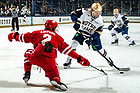 January 24, 2020; Jake Pivonka (20) in action at Compton Family Ice Arena. (Photo by Matt Cashore/University of Notre Dame)