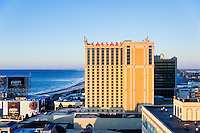 Exterior of Trump Taj Mahal casino, Atlantic City, New Jersey, USA