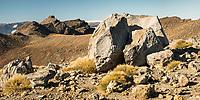 Volcanic rocks, Tongariro National Park, Central Plateau, North Island, UNESCO World Heritage Area, New Zealand, NZ