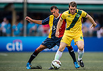 USRC - BTS vs Wallsend Boys Club during their Master Cup Final match as part of day three of the HKFC Citibank Soccer Sevens 2015 on May 31, 2015 at the Hong Kong Football Club in Hong Kong, China. Photo by Xaume Olleros / Power Sport Images