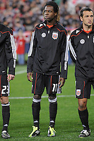 DC United forward Joseph Ngwenya (11)     DC United defeated The Columbus Crew 3-1  at the home season opener, at RFK Stadium, Saturday March 19, 2011.