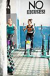 Morning workout in the gym, <br /> Santa Clara Cuba