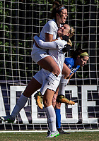 Washington,D.C. - Saturday, November 10 2018: Georgetown University defeated Central Connecticut State 3-1 in the a NCAA tournament first round match at Shaw Field.