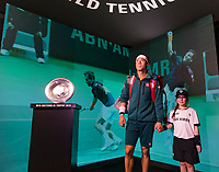 Rotterdam, The Netherlands, 14 Februari 2019, ABNAMRO World Tennis Tournament, Ahoy, Wheelchair, Kei Nishikori (JPN)<br /> Photo: www.tennisimages.com/Henk Koster