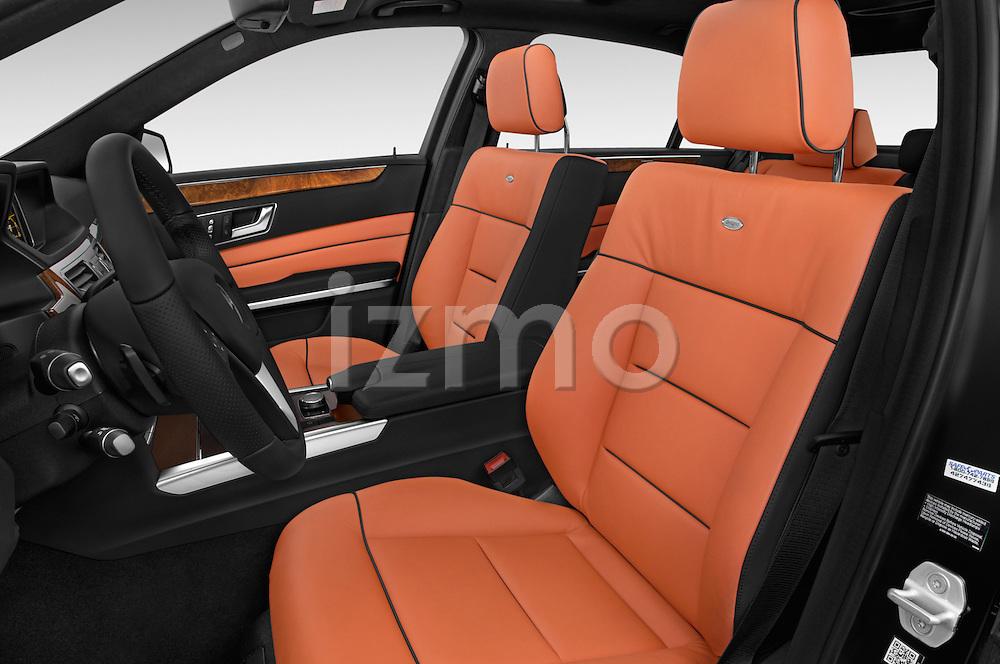 Front seat view of a 2015 Mercedes Benz E-Class E250 BlueTEC Luxury 4 Door Sedan front seat car photos