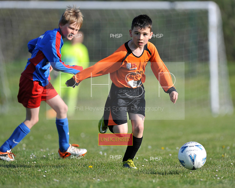 09/04/2011 Coulton cup semi finals....© Phill Heywood.09/04/2011 Coulton Cup Semi Final U-9 Cup YMCA v Kirkham..©  Phill Heywood