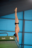 Great Britain's Tom Daley compete in the 10m Platform<br /> <br /> Photographer Hannah Fountain/CameraSport<br /> <br /> FINA/CNSG Diving World Series 2019 - Day 3 - Sunday 19th May 2019 - London Aquatics Centre - Queen Elizabeth Olympic Park - London<br /> <br /> World Copyright © 2019 CameraSport. All rights reserved. 43 Linden Ave. Countesthorpe. Leicester. England. LE8 5PG - Tel: +44 (0) 116 277 4147 - admin@camerasport.com - www.camerasport.com