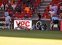 5th June 2021; Brentford Community Stadium, London, England; Gallagher Premiership Rugby, London Irish versus Wasps; Marcus Watson of Wasps last minute try but was not given