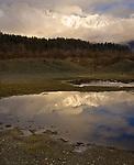 """Reflections of Porcupine Pass"", Alaska"