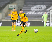 8th January 2021; Molineux Stadium, Wolverhampton, West Midlands, England; English FA Cup Football, Wolverhampton Wanderers versus Crystal Palace; Joao Moutinho of Wolverhampton Wanderers passing the ball forward