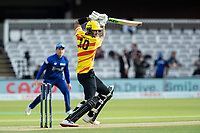 Alex Hales, Trent Rockets drives through point during London Spirit Men vs Trent Rockets Men, The Hundred Cricket at Lord's Cricket Ground on 29th July 2021