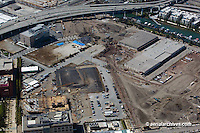 Aerial photograph construction Mission Bay San Francisco California