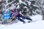 FIS Alpine Ladies Ski World Cup 2021 . Kronplatz, Plan De Corones, Italy on January 26, 2021. In action Marta Bassino (ITA)