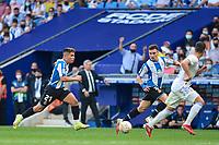 3rd October 2021;  RCDE Stadium, Barcelona, Spain: La Liga Football, Espanyol versus Real Madrid; <br /> Nico Melamed of RCD Espanyol during the Liga match between RCD Espanyol and Real Madrid at RCDE Stadium in Cornella, Spain.
